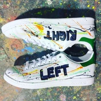 adidas baskets michael edery artiste left right