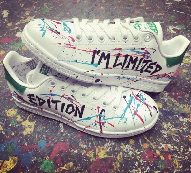 adidas stan smith edery limited edition artistique
