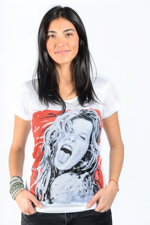 Gisele Bundchen par Michael Edery artiste pop art