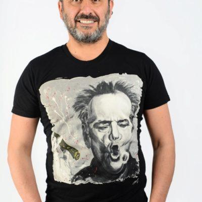 Jack Nicholson par Michael Edery artiste pop art