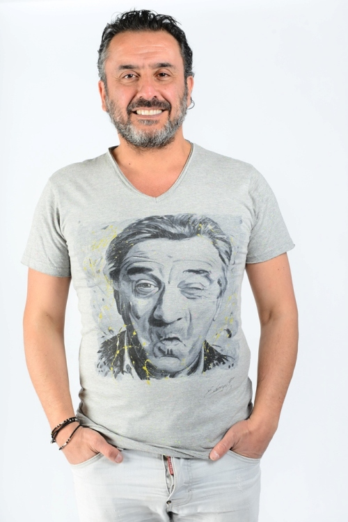 Robert De Niro par Michael Edery artiste pop art