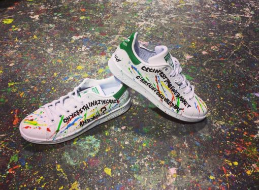 basket adidas customiser par michael edery