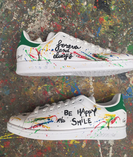 michael edery customise les baskets stan smith