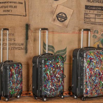 valise coque dure de voyage personnalisée