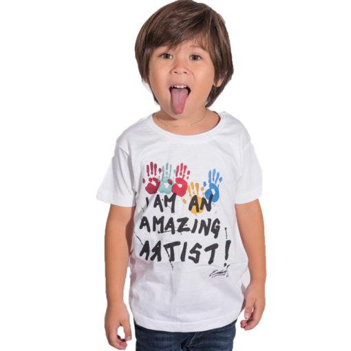 t-shirt enfant street art
