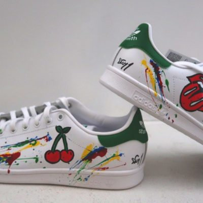 Stan smith customisées personalisee