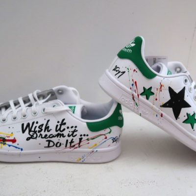 Stan smith customisées « WISH IT »