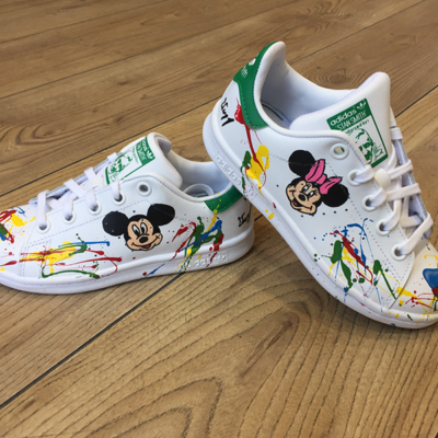 stan smith customisée enfant