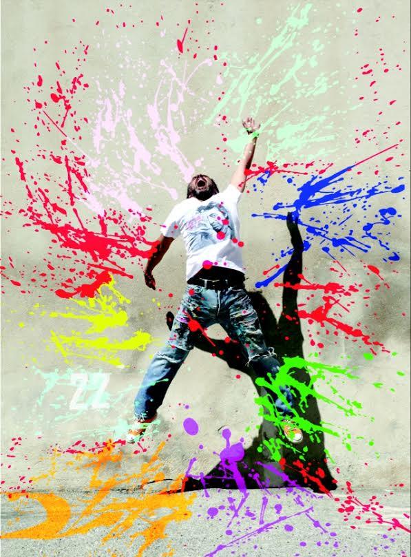 t-shirt artistique michael edery